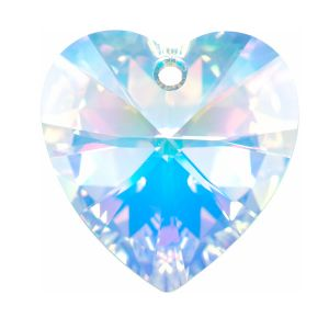 6228 HEART PENDANT SWAROVSKI MM 10,3X 10,0 CRYSTAL AB