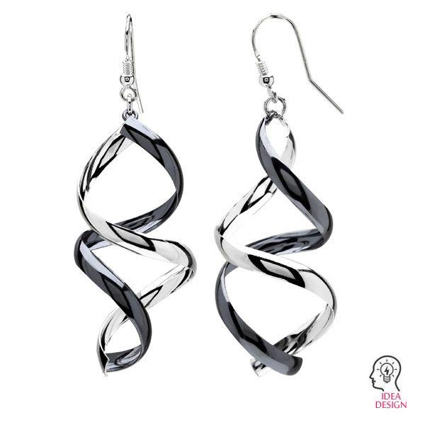 Earrings hooks, sterling silver, BO  3