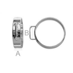 Ring with loop - OB 5,0