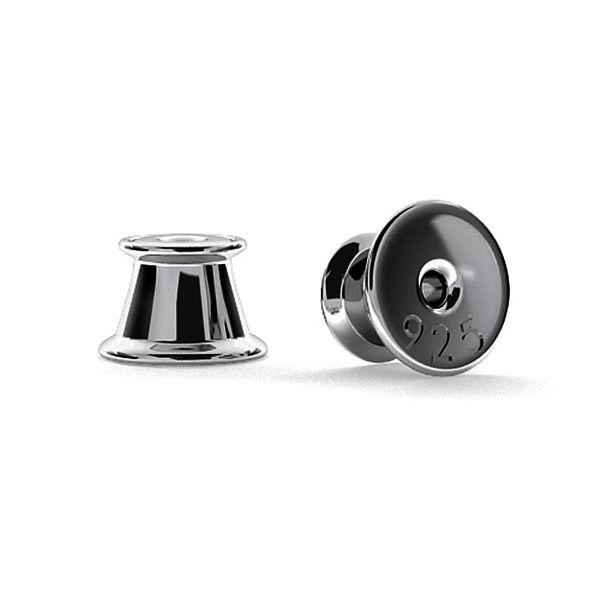 Silver back stopper (silicone inside) - SL 1