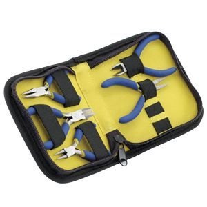 TOOL KIT 5PC MINI ZIP POUCH