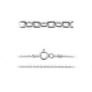 A 030 (38-75 cm), anchor chain for celebrity necklace, sterling silver