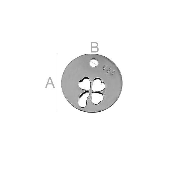 Clover pendant BL-0070 (0,40 mm)