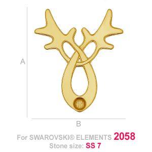 LK-0 - Reindeer head (2058 SS 7)