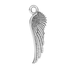 Angel wing charms - ODL-00162 6,5x21 mm