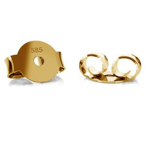 Gold back stopper BARZ 1 - AU 585,14K