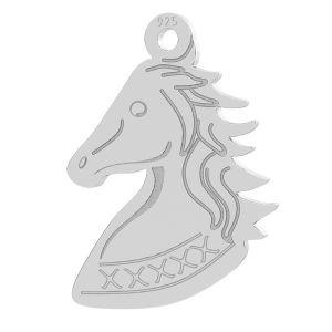 Horse head pendant, LK-0754 - 0,50