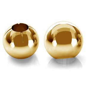 Ball 3mm (1 hole) gold 14K P1FZ 3,0 F:0,9