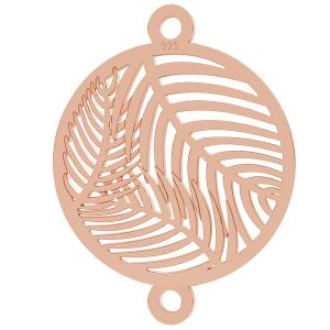 Palm trees pendant connector, LK-0884 - 0,50