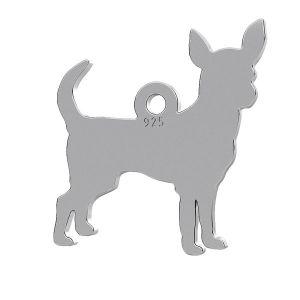 Chihuahua dog pendant, LK-0944 - 0,50