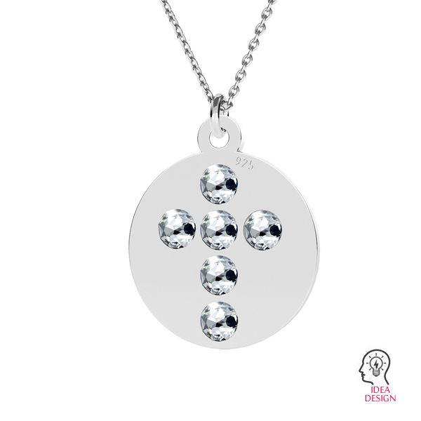 Cross pendant (2058 SS 7), LK-1175 - 0,50 ver.1