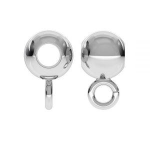 Bead ball button charm, P2L 5,0 F:2,2 (CON 1)
