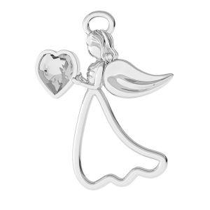 Angel pendant, silver 925, LK-1276 - 0,50