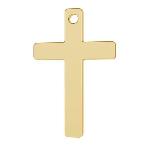 Cross pendant gold 14K LKZ-1372 - 0,30