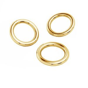 KCZ-0,80x2,15 - Soldered jumpring Gold 585 14K