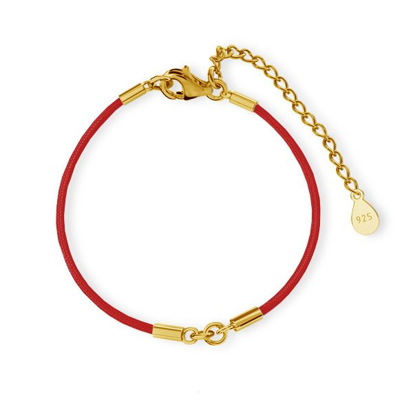 Cord base for bracelet, S-BRACELET 8