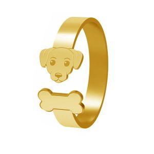 Dog ring, sterling silver 925, LK-1403 - 0,50