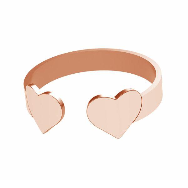 Heart ring, sterling silver 925, LK-1404 - 0,50