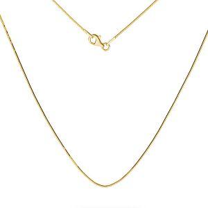 Snake gold chain 14K, SG-SNAKE 020 DC8L AU 585, 14K - 50 cm