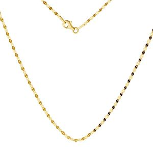 Gold chain coffe 14K, SG-FBL 030 AU 585, 14K - 50 cm