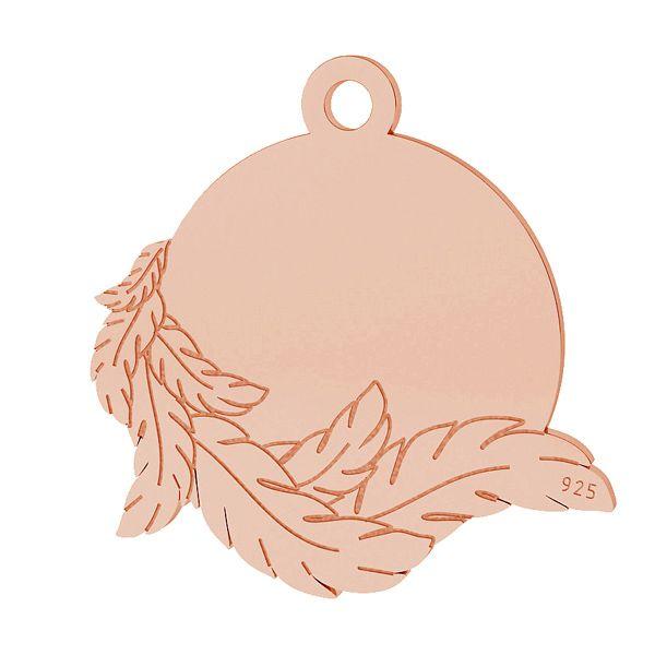 Wings pendant, sterling silver 925, LK-1467 - 0,50
