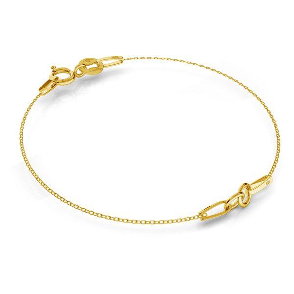 Gold bracelet base SG-BRACELET 2 - (7+7 cm) AU 585 14K