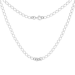 Necklace base, sterling silver 925, S-CHAIN 27 (R1 50)