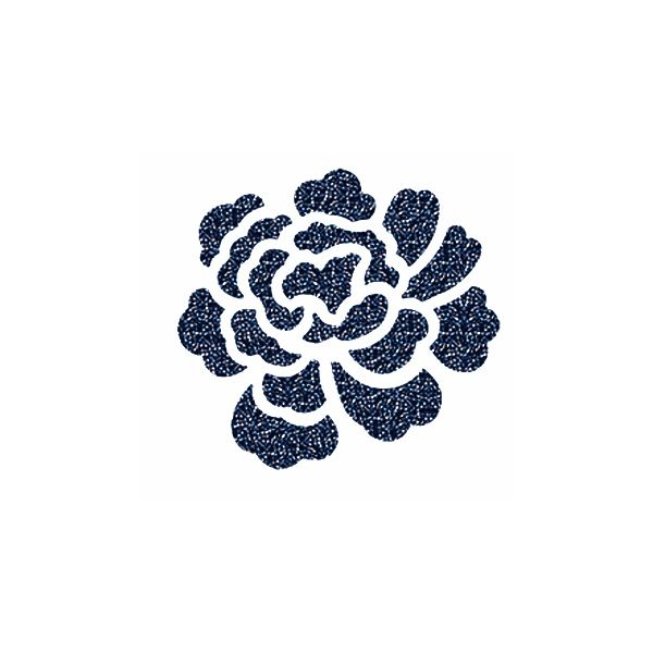 74015 012 001BBL - Crystal BERMUDA BLUE Hotfix