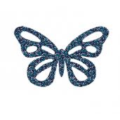 74013 012 001BBL - Crystal BERMUDA BLUE Hotfix