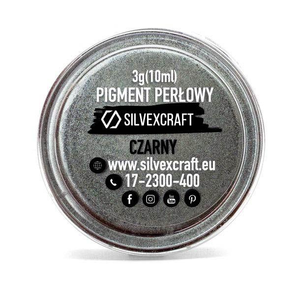 Pearl pigment, black - 3 g