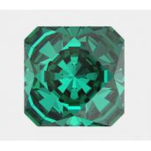 4499 MM 10,0 EMERALD F, Kaleidoscope Square Fancy Stone