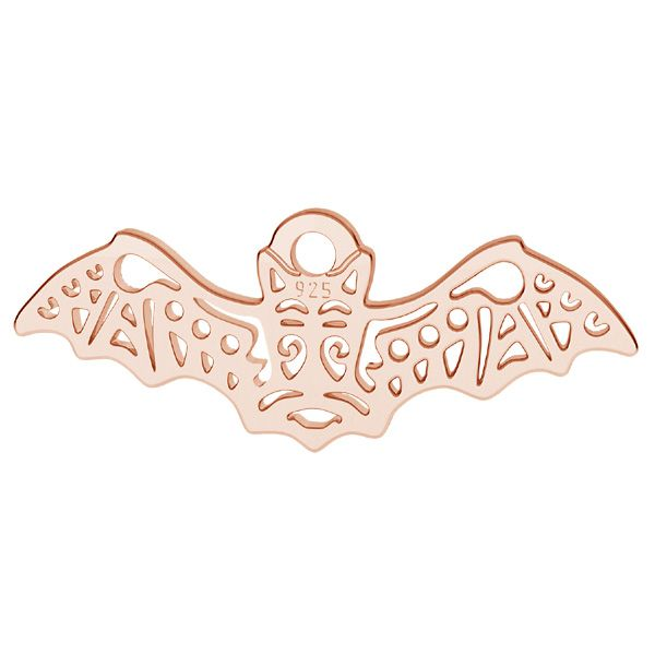 Bat pendant, sterling silver, LK-1560 - 0,50