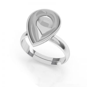Ring base for Pear Fancy stones OKSV 4320 MM 14 UNIVERSAL RING
