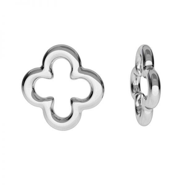 Clover pendant, sterling silver, ODL-00508