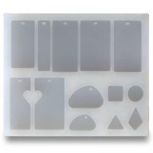 Silicone pendant mold, SFM 001