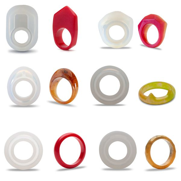 Silicone ring molds, SRM 001
