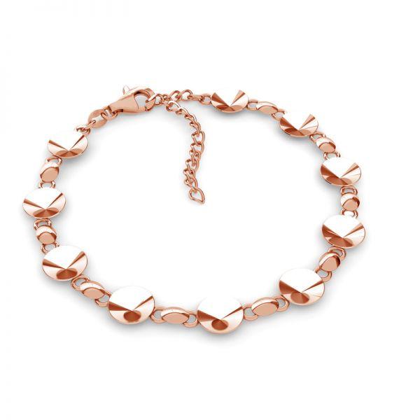 Rivoli bracelet base 8 mm, sterling silver, OKSV 1122 SS 39 BR