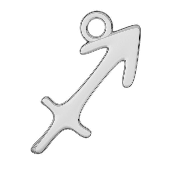 Sagittarius zodiac pendant, sterling silver 925, ODL-00533