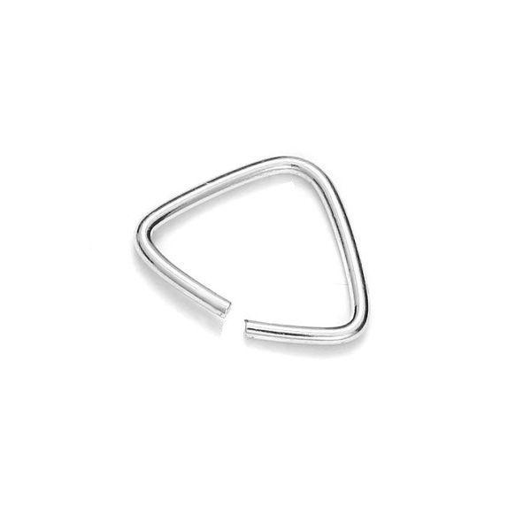 Triangle shaped jump ring - KRT 6 - 0,70