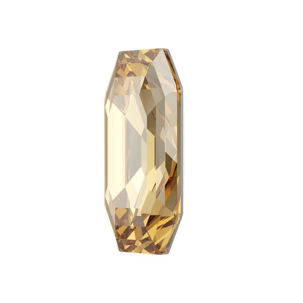 4595 MM 12,0X 6,0 CRYSTAL GOL.SHADOW F (Elongated Imperial Fancy Stone)