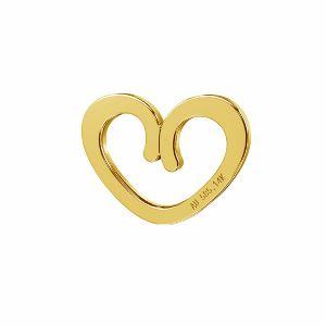 Heart pendant*gold AU 585*LKZ-50009 - 03