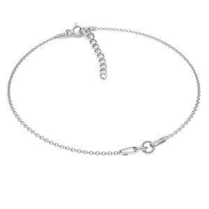 Bracelet base*sterling silver 925*BRACELET 18 (A 030) + R1 50 15-19 cm