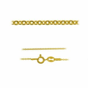 Anchor chain*gold 585 14K*A 030 40-60 cm