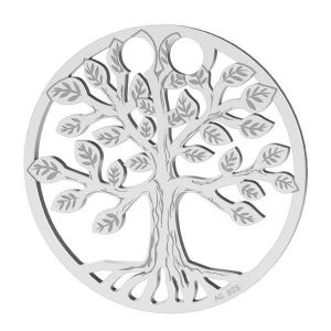 Tree of life pendant, sterling silver, LKM-2028