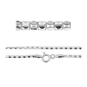 Coreana bracelet chain*sterling silver 925*PLE CORP 1,8 3P (19 cm)