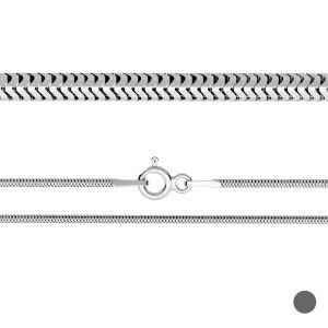 Flexible snake chain*sterling silver 925*CSTD 1,6 (40 cm)