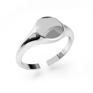 Signet for engraving*sterling silver 925*ODL-00735 7,5x19 mm