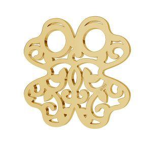 Gold openwork clover pendant*AU 333*LKZ8K-30004 - 0,30 13x13 mm