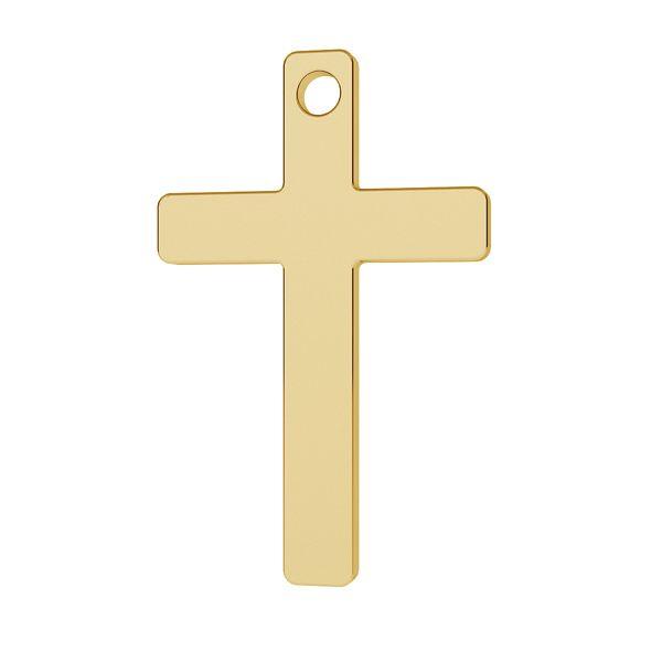 Cross pendant gold 14K LKZ-00026 - 0,30 mm