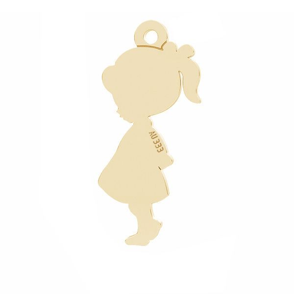 Girl pendant*gold 333*LKZ8K-30024 - 0,30 7x19 mm
